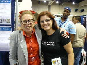 Lynda Barry and Marci