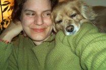 Teddy fell asleep on my shoulder <3