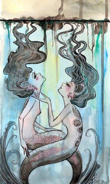 Water Nymphs by SteakandUnicorn