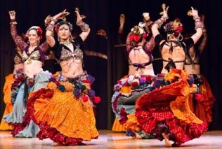 American Tribal Style dancers by Antonia Azahara Estudio