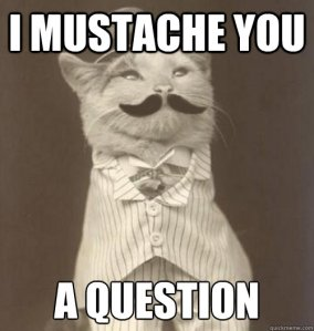 mustache you a question