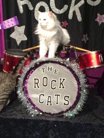 Dakota on drums!