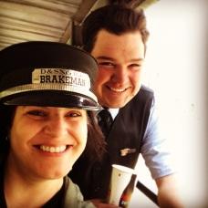 I stole the brakeman's cap